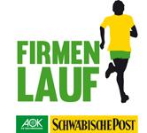 SchwäPo-AOK Firmenlauf 2018 Logo